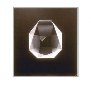 Airbrush. Diamond. Acryl op linnen. 60 x 65 cm