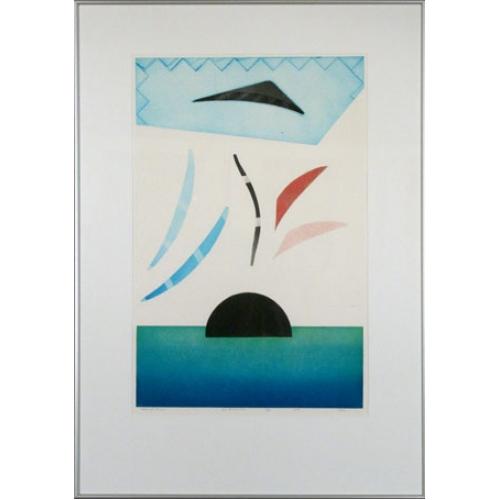 Kleurenets: Second Time, 56 x 78 cm