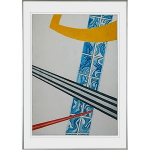 Kleurenets: Sight Draft, 56 x 78 cm